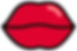 Kuu Kuu Harajuku Kawaii Hot Lips Emoji