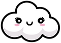 Kuu Kuu Harajuku Kawaii Cloud Emoji