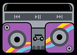 Kuu Kuu Harajuku Kawaii Boombox Emoji