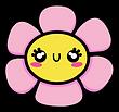 Kuu Kuu Harajuku Kawaii Flower Emoji