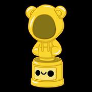 Kuu Kuu Harajuku Kawaii Golden Hoodie Award Emoji