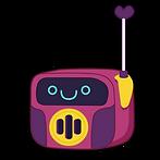 Kuu Kuu Harajuku Kawaii Walkie Talkie Emoji