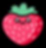 Kuu Kuu Harajuku Kawaii Strawberry Emoji