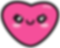 Kuu Kuu Harajuku Kawaii Pink Heart Emoji