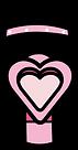 Kuu Kuu Harajuku Kawaii Pink Microphone Emoji