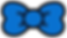 Kuu Kuu Harajuku Kawaii Blue Bow Emoji