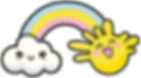 Kuu Kuu Harajuku Kawaii Rainbow Emoji