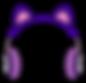 Kuu Kuu Harajuku Kawaii Headphones Emoji