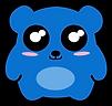 Kuu Kuu Harajuku Kawaii Yummy Bear Emoji