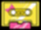 Kuu Kuu Harajuku Kawaii Golden Cassette Emoji