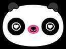 Kuu Kuu Harajuku Kawaii Panda Emoji