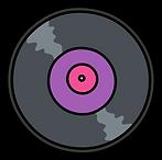 Kuu Kuu Harajuku Kawaii Vinyl Record Emoji