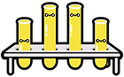 Kuu Kuu Harajuku Kawaii Test-tubes Emoji