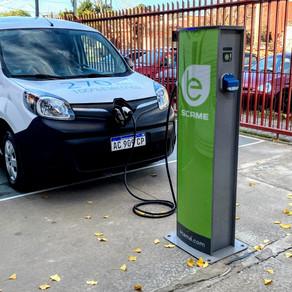 Scame instalará 50 cargadores para vehículos eléctricos de uso público en Argentina