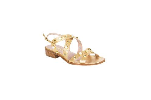 Flats Perlas (dorado)