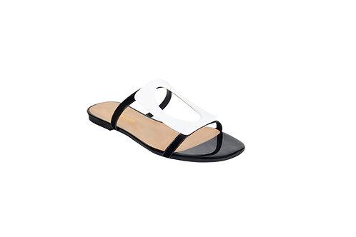 Flats Hebilla (negro)