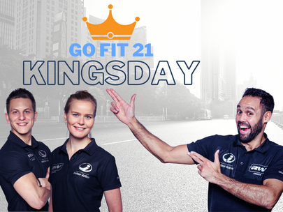 Go Fit 21 Kings Day urban run