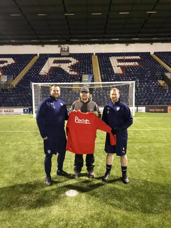 Local businesses show support for Raith Seniors