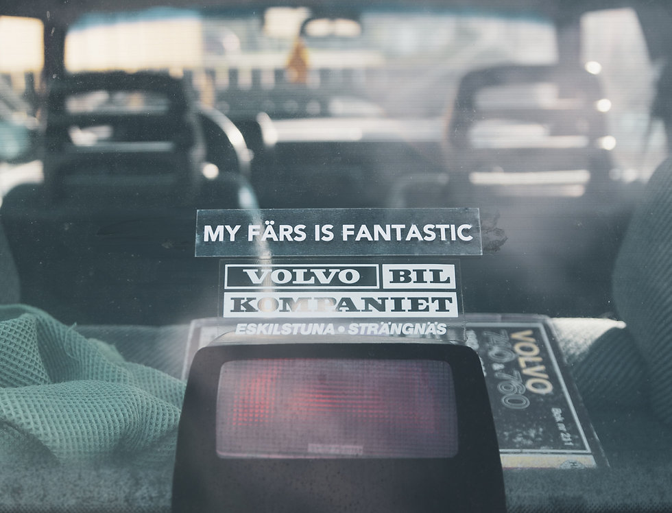 MY FÄRS IS FANTASTIC - STICKER