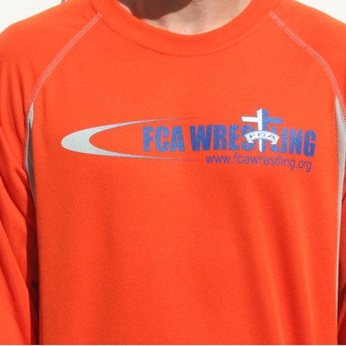 Long sleeve t-shirt - ORANGE