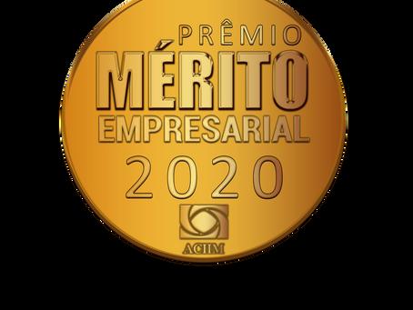 ACIIM realiza a primeira edição do Prêmio Mérito Empresarial 2020