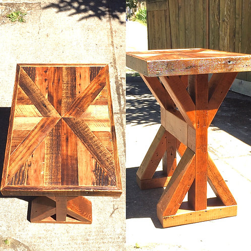 """X"" Trestle End Table"