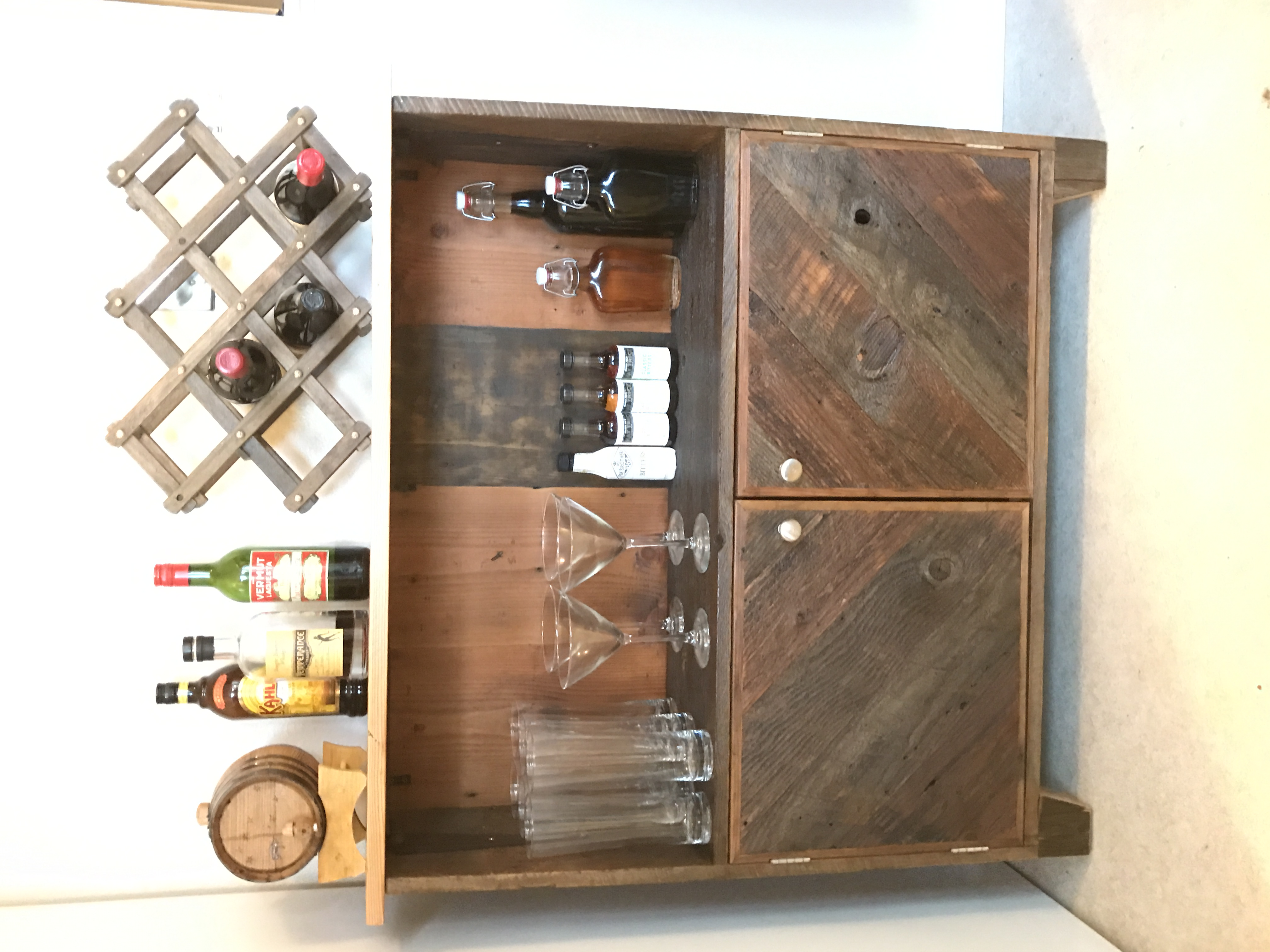 Whiskey Cabinet
