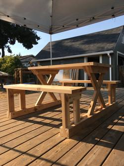 Ceder Picnic Table