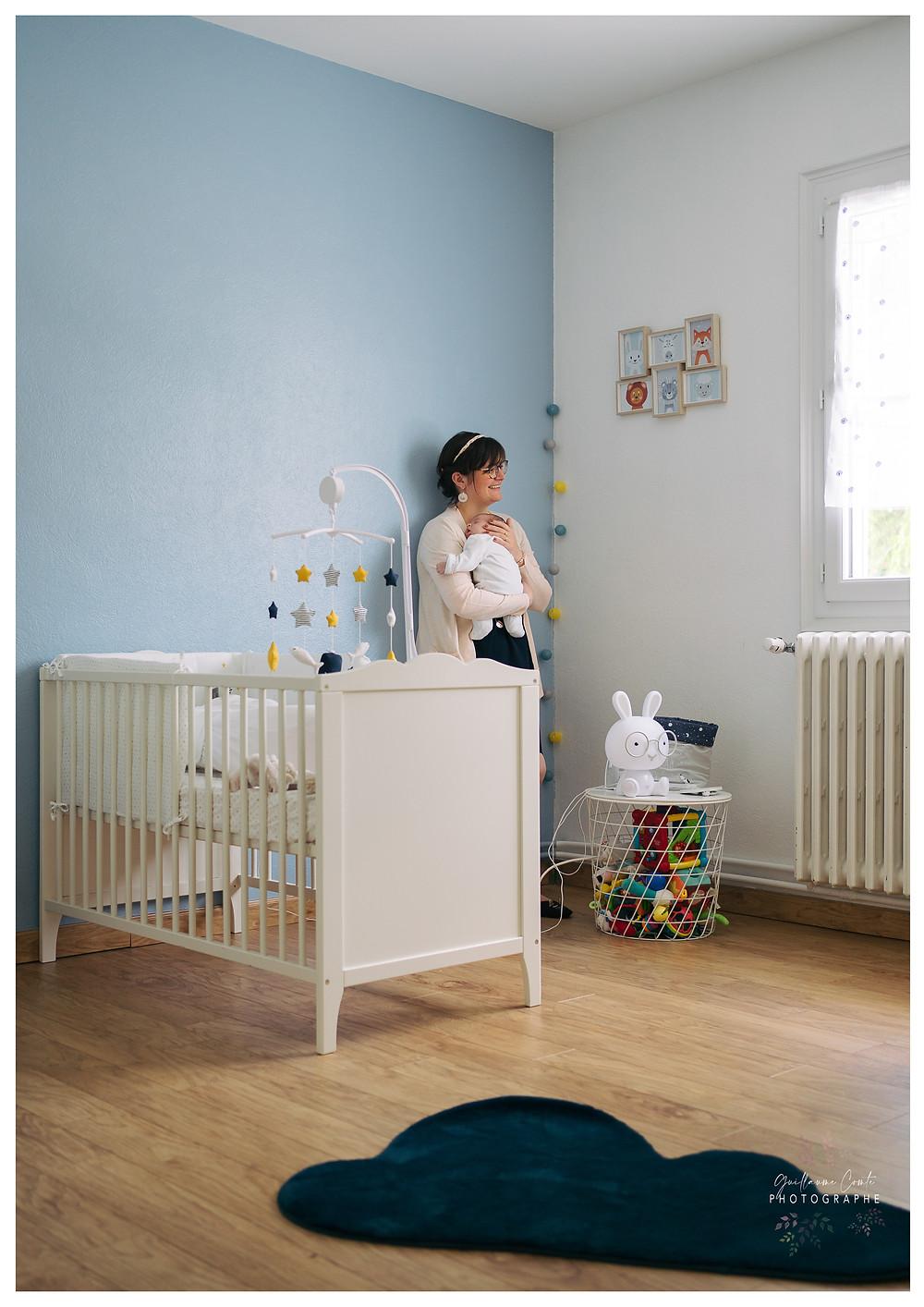Photographe Maternité Naissance Bébé Limoges Limousin Guillaume  Domicile