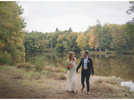 Mariage intimiste aux couleurs de l'automne : Eglantine & Fabien