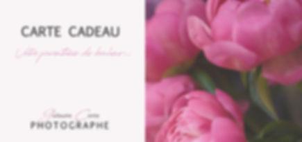 Carte Cadeau Photographe Limoges Guillaume Comte