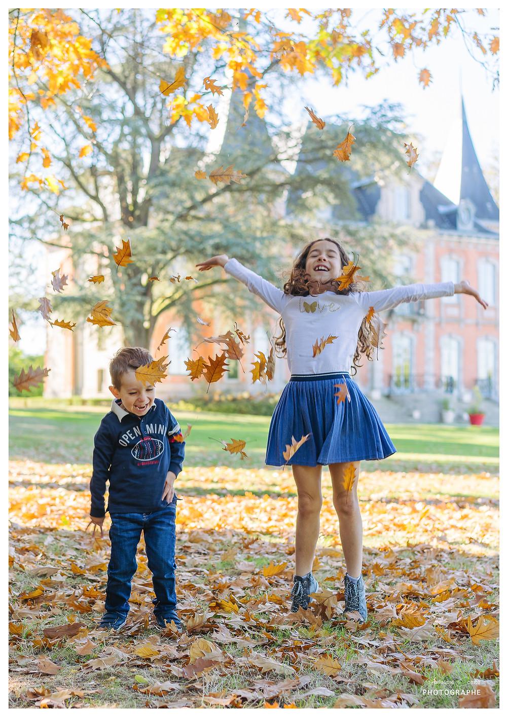 Photographe Mini Séances Automne Limoges Limousin Nature Famille Enfants Lifestyle