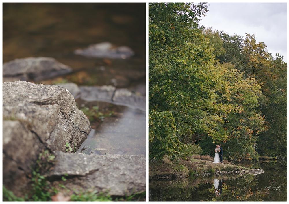 Guillaume Comte Photographe Limoges Mariage Nature Lac Unique Automnale Automne Saison
