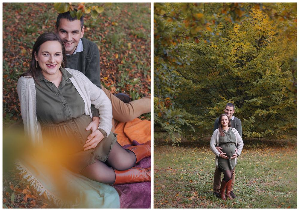 Séance Photo Grossesse Naissance Guillaume Comte Photographe Limoges Limousin Automne Nature