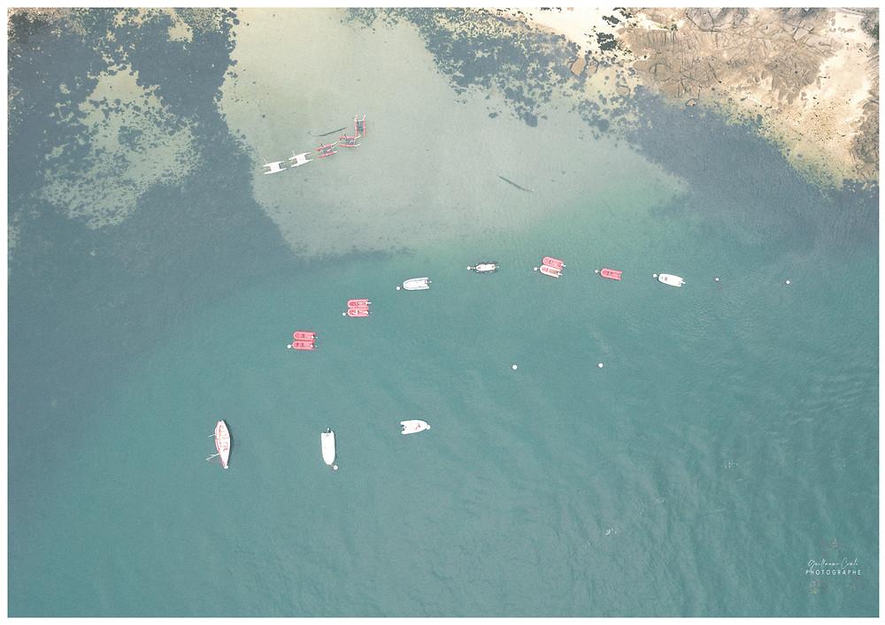 Guillaume Comte Photographe Tourisme Finistère France Découverte Evasion drone ciel Pointe de Groasguen