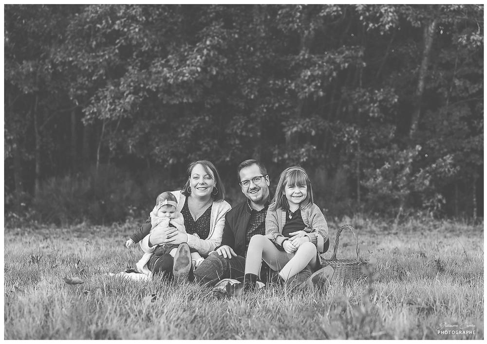 Photographe Famille Séance Photo Nature Limoges Limousin Automne Lifestyle