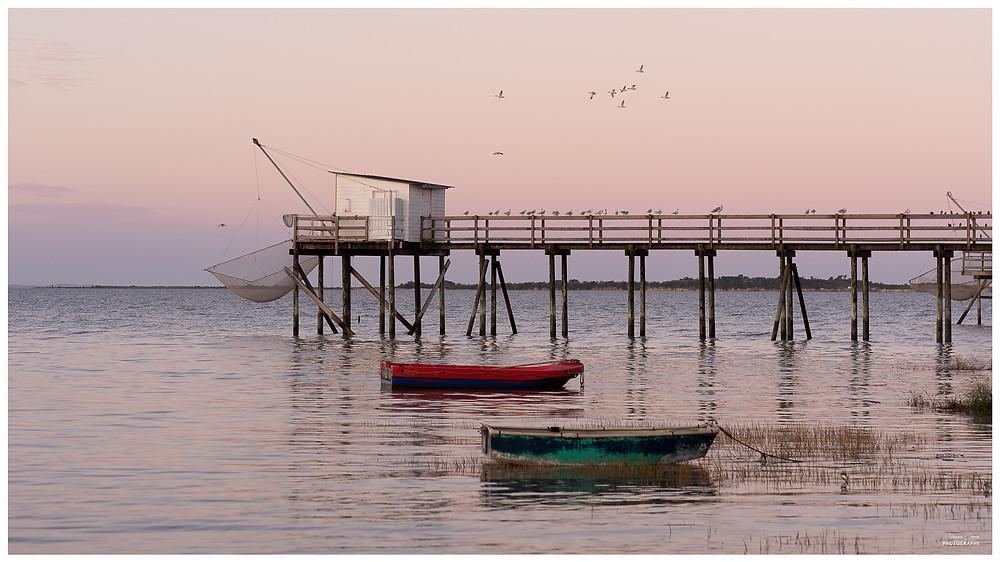 Photographe Charente Maritime Fouras Carrelet Escapade Guillaume Comte