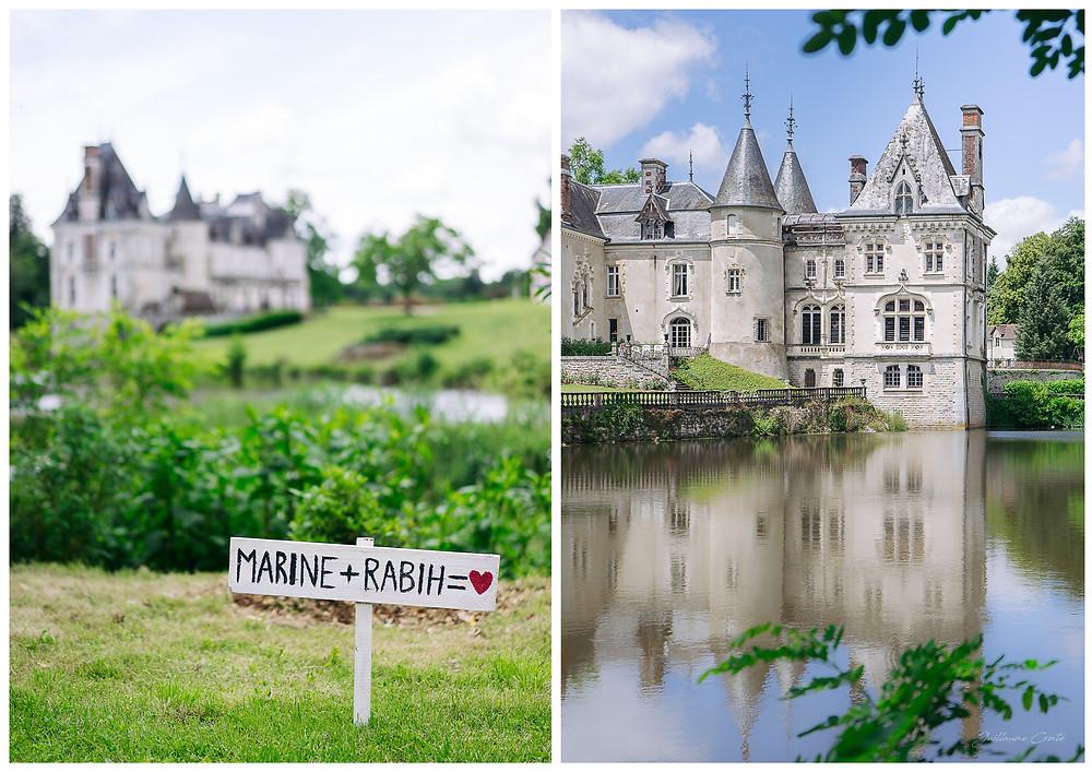 Photographe Mariage Wedding Bride Mariée Limoges Limousin Guillaume Comte  Chateau Rocher