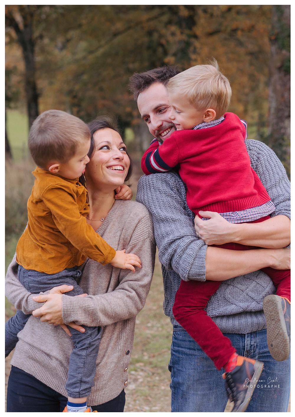 Guillaume Comte Photographe Famille Limoges Limousin Automne Lifestyle Domicile