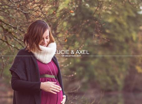 Séance Grossesse de Lucie & Axel