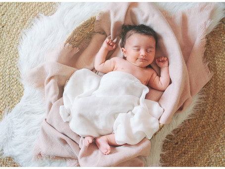 Séance Naissance : bébé Louise ♡