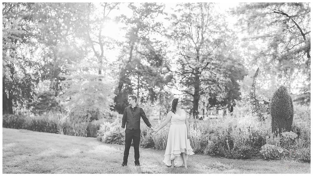 Photographe Limoges PACS Mariage Victor Thuillat Parc Couple Guillaume Comte