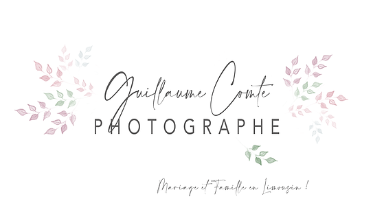 Guillaume Comte Photographe Limoges Logo