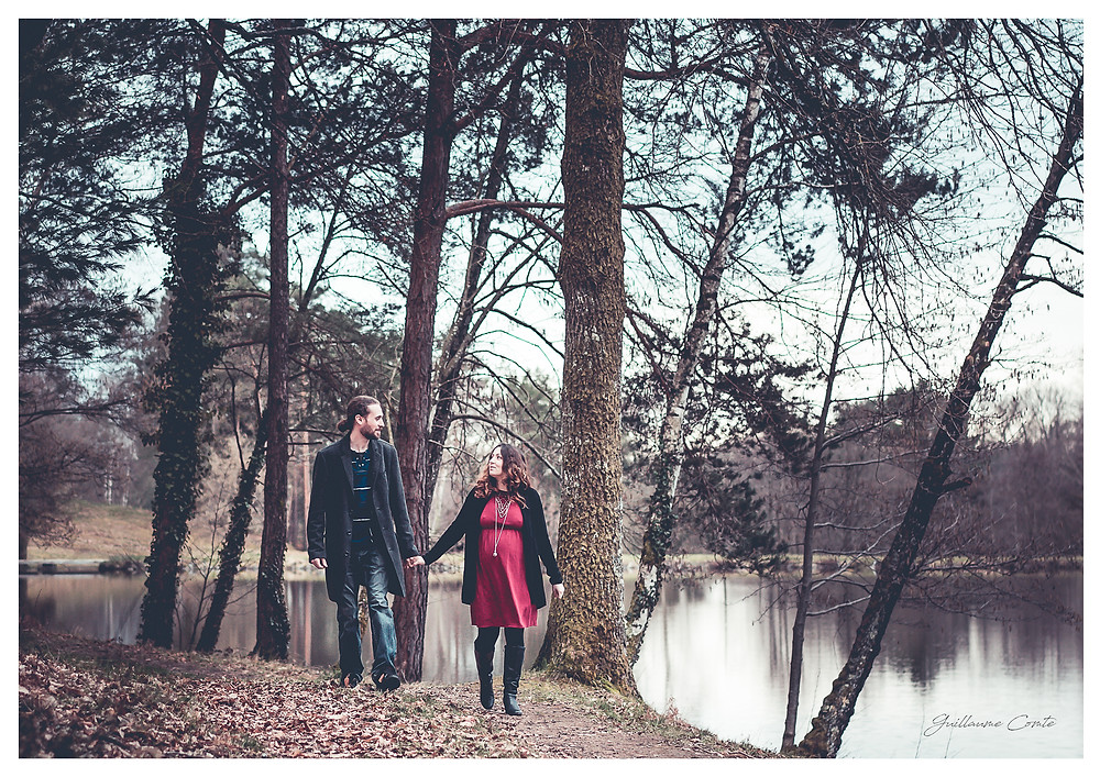 Guillaume Comte Photographe Enceinte Naissance Pregnant Baby bébé Limoges Limousin Nature Domicile Famille