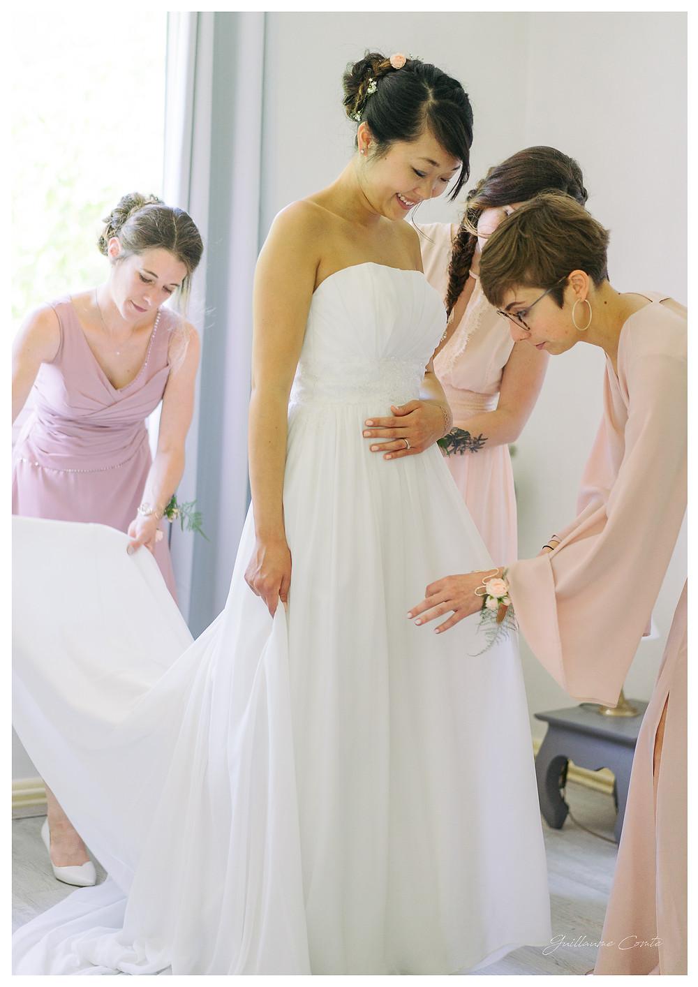 Mariage Préparatifs Wedding Bride Mariee Limoges Limousin Photographe Guillaume Comte