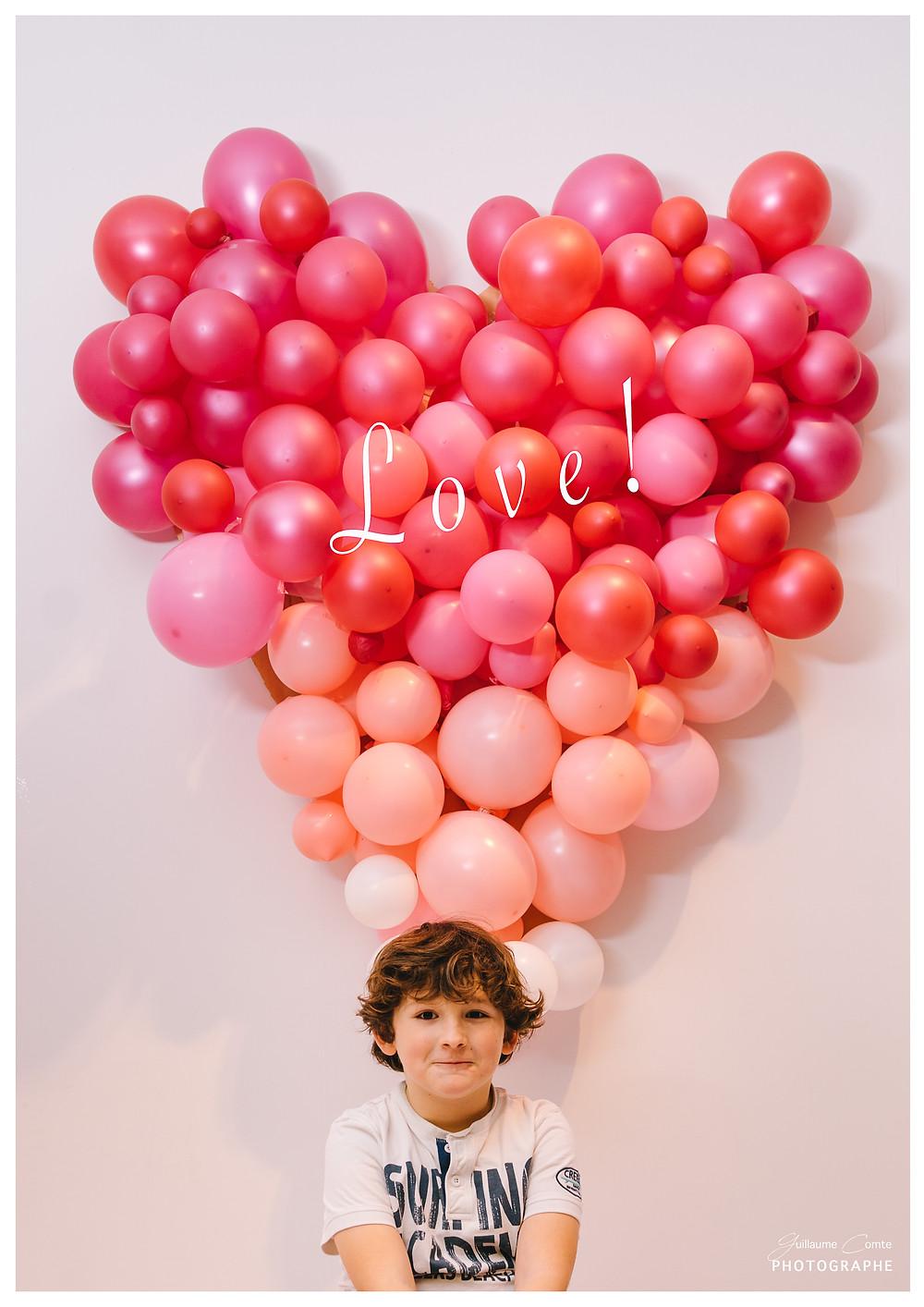 Photographe Limoges Famille Enfant Créatif Saint Valentin