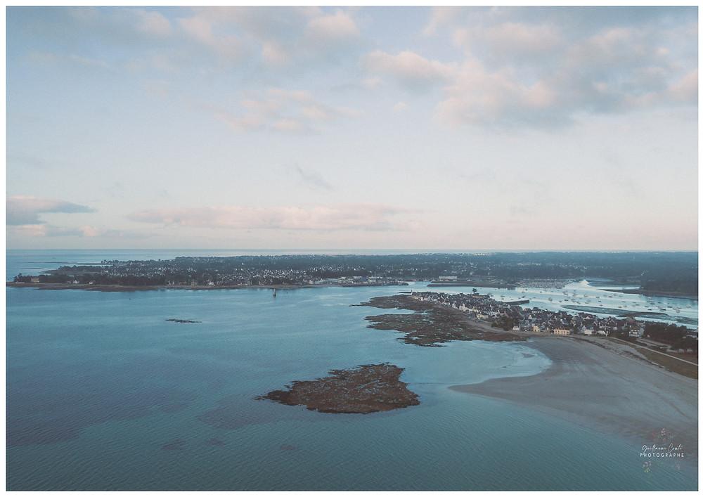 Guillaume Comte Photographe Tourisme Finistère France Découverte Evasion ILE TUDY drone ciel