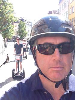 Joe on a segway tour