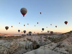 Turkey, Cappadocia, Hot Air Ballooning