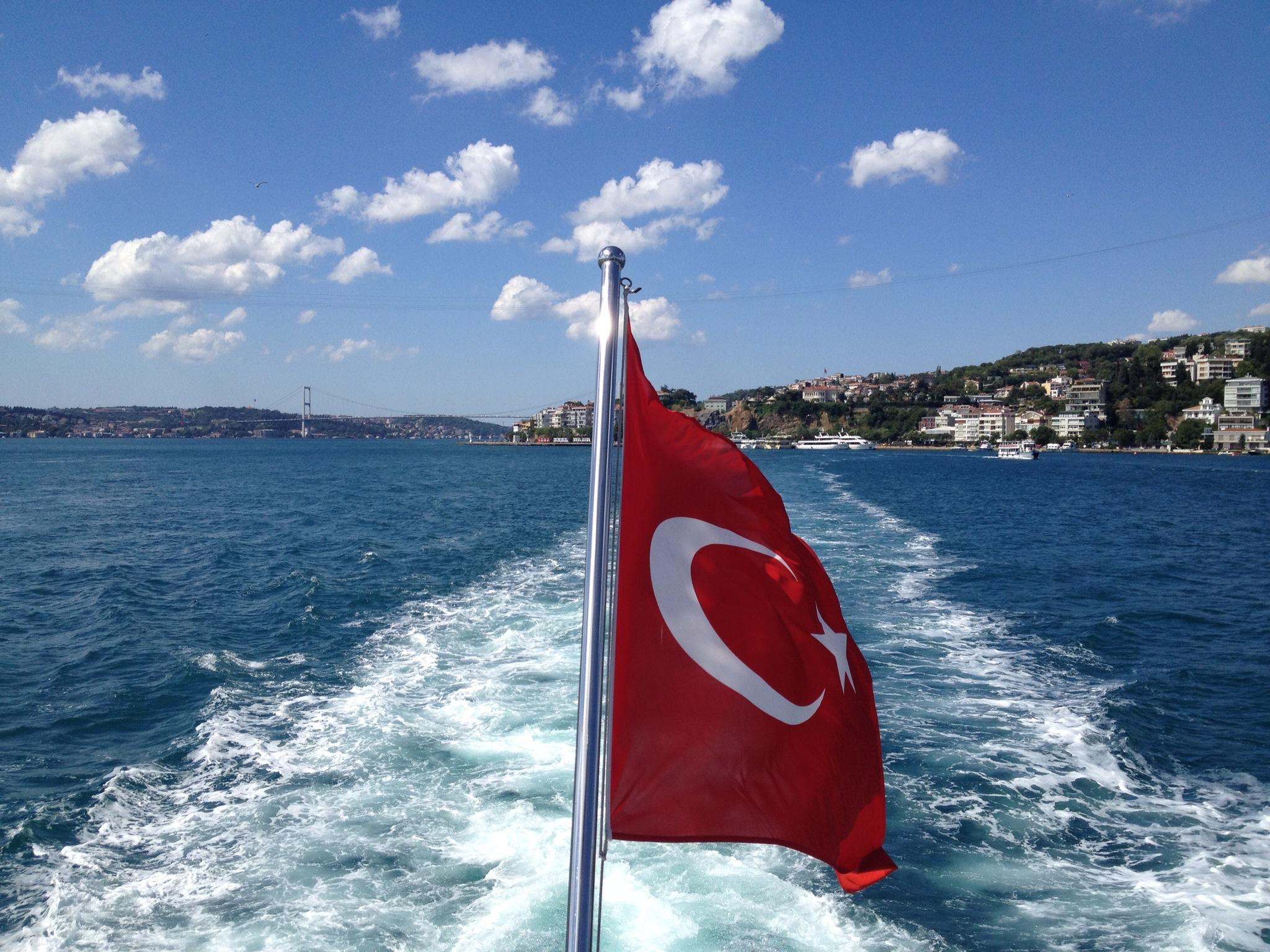 Yachting on the Bosphorus